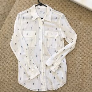 Equipment Anchor Signature Button Down top small